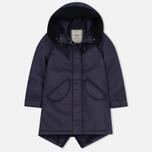 Женская куртка парка Nemen Leather Scuba Knit Aubergine фото- 0