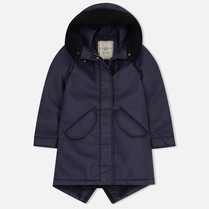 Женская куртка парка Nemen Leather Scuba Knit Aubergine