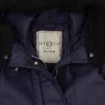 Женская куртка парка Nemen Leather Scuba Knit Aubergine фото- 1