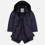 Женская куртка парка Nemen Leather Scuba Knit Aubergine фото- 2