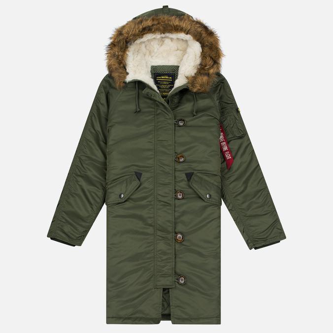 Женская куртка парка Alpha Industries Elyse Sage Green