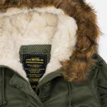 Женская куртка парка Alpha Industries Elyse Sage Green фото- 2