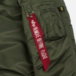 Женская куртка парка Alpha Industries Elyse Sage Green фото- 4