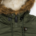 Женская куртка парка Alpha Industries Elyse Sage Green фото- 3
