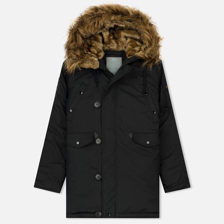 Женская куртка парка Alpha Industries Explorer Black