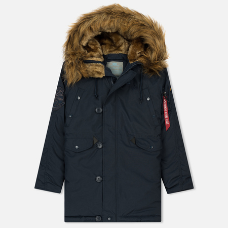 Женская куртка парка Alpha Industries Explorer Replica Blue