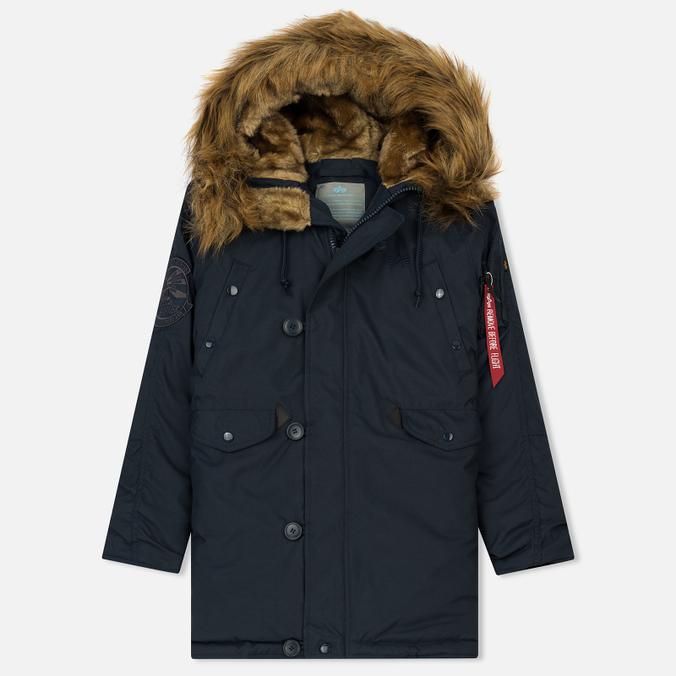 f9de4398 Женская куртка парка Alpha Industries Explorer Replica Blue 103005-07