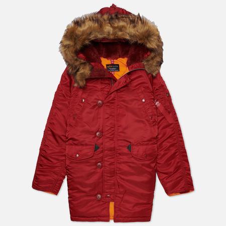 Женская куртка парка Alpha Industries N-3B Commander Red