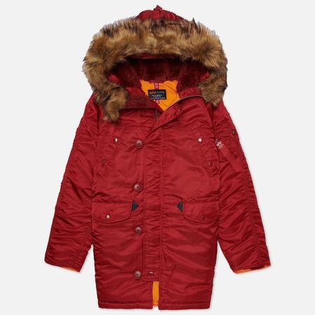 Alpha Industries Женская куртка парка N-3B Commander Red