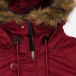 Женская куртка парка Alpha Industries N-3B Commander Red фото- 3