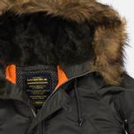 Женская куртка парка Alpha Industries N-3B Replica Grey фото- 2