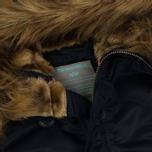Женская куртка парка Alpha Industries N3B VF 59 Replica Blue фото- 1