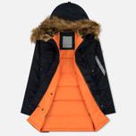 Женская куртка парка Alpha Industries N3B VF 59 Replica Blue фото- 2