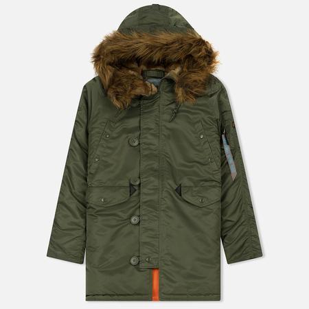 Женская куртка парка Alpha Industries N3B VF 59 Sage Green