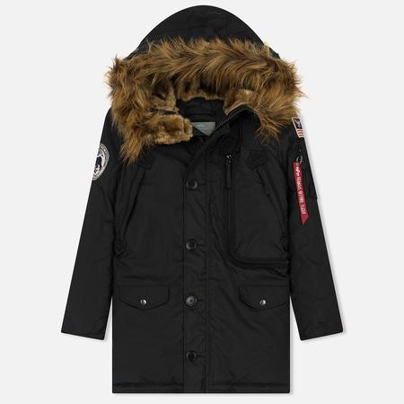 Женская куртка парка Alpha Industries Polar Black
