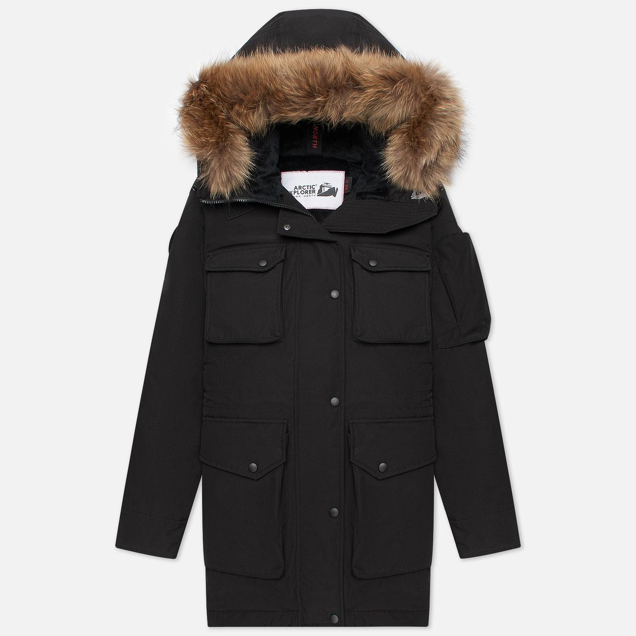 Женская куртка парка Arctic Explorer UMI Black