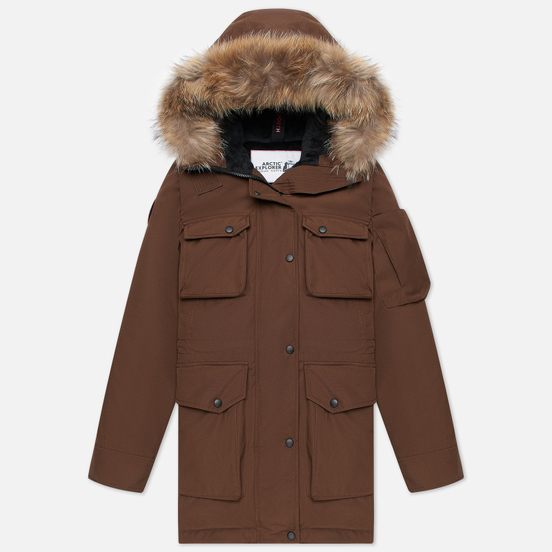 Женская куртка парка Arctic Explorer UMI Cacao