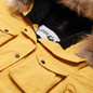Женская куртка парка Arctic Explorer UMI Yellow фото - 1