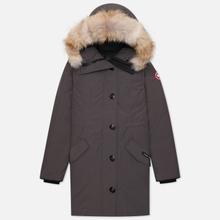Женская куртка парка Canada Goose Rossclair Graphite фото- 0