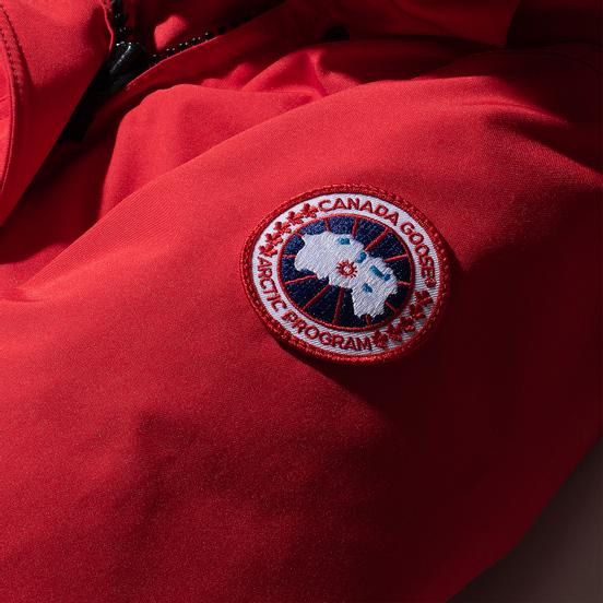 Женская куртка парка Canada Goose Trillium HD Red