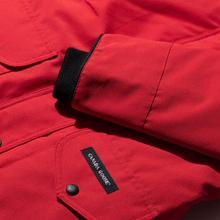 Женская куртка парка Canada Goose Trillium HD Red фото- 3