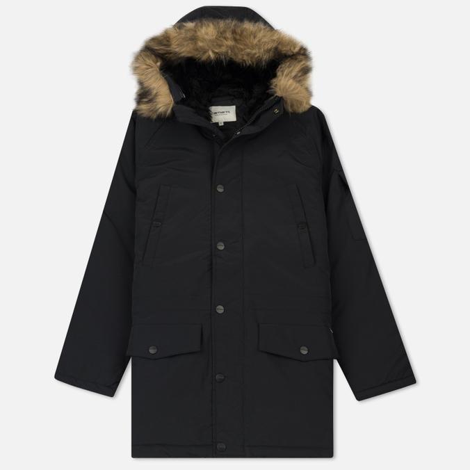 Женская куртка парка Carhartt WIP W' Anchorage 4.7 Oz Black/Black