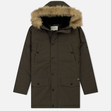 Женская куртка парка Carhartt WIP W' Anchorage 4.7 Oz Cypress/Black
