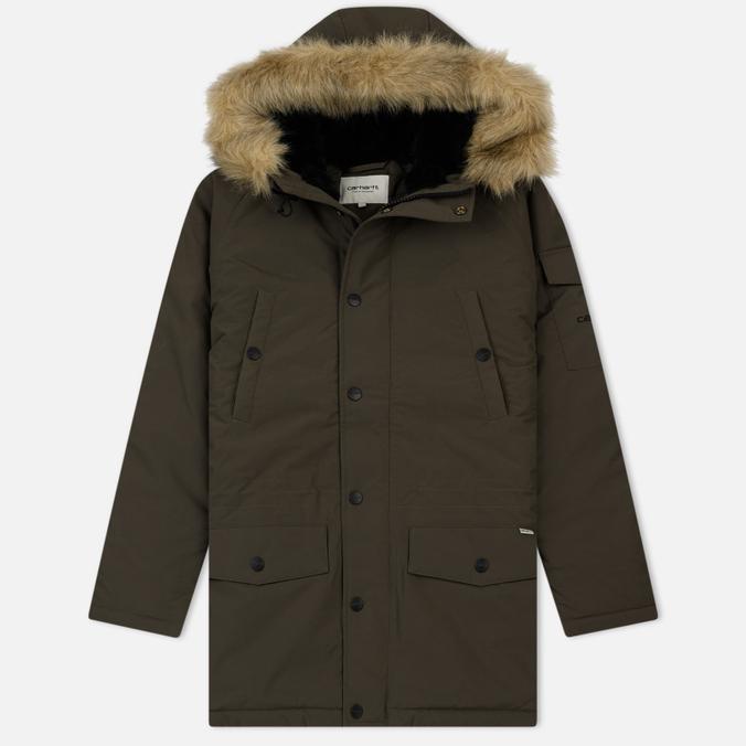 Женская куртка парка Carhartt WIP W' Anchorage 4.7 Oz Cypress/Black