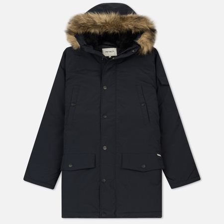 Женская куртка парка Carhartt WIP W' Anchorage 4.7 Oz Dark Navy/Black