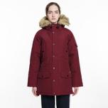 Женская куртка парка Carhartt WIP W' Anchorage 4.7 Oz Mulkberry/Black фото- 8