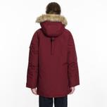 Женская куртка парка Carhartt WIP W' Anchorage 4.7 Oz Mulkberry/Black фото- 9
