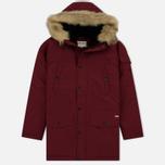 Женская куртка парка Carhartt WIP W' Anchorage 4.7 Oz Mulkberry/Black фото- 0