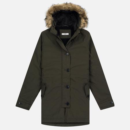 Женская куртка парка Edwin W' Mona Uniform Green