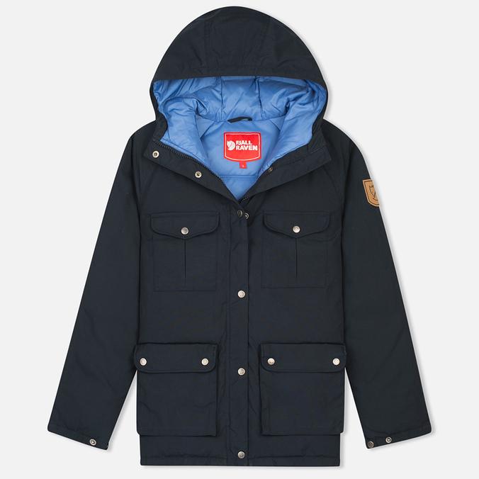 Женская куртка парка Fjallraven Greenland Down Dark Navy