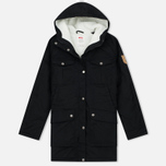Женская куртка парка Fjallraven Greenland Winter Parka Long Black фото- 0