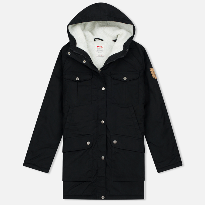 Женская куртка парка Fjallraven Greenland Winter Parka Long Black