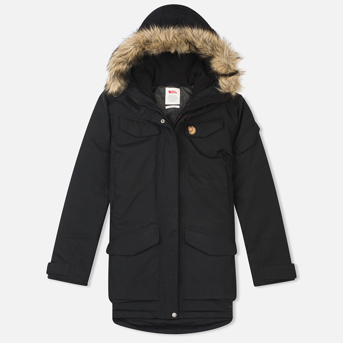 Женская куртка парка Fjallraven Nuuk Black
