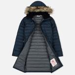 Женская куртка парка Fjallraven Ovik Down Parka Dark Navy фото- 1