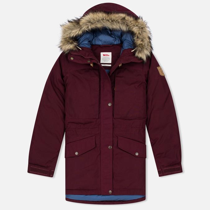 Женская куртка парка Fjallraven Singi Down Dark Garnet