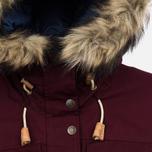 Женская куртка парка Fjallraven Singi Down Dark Garnet фото- 3