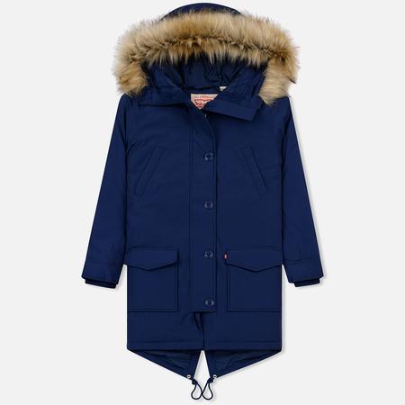 Женская куртка парка Levi's Edith Medieval Blue