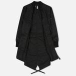 Женская куртка парка maharishi MA Fishtail Black фото- 1
