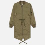 Женская куртка парка maharishi MA Fishtail Maha Olive фото- 0