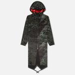 Женская куртка парка maharishi MAH.SAT. Black фото- 0