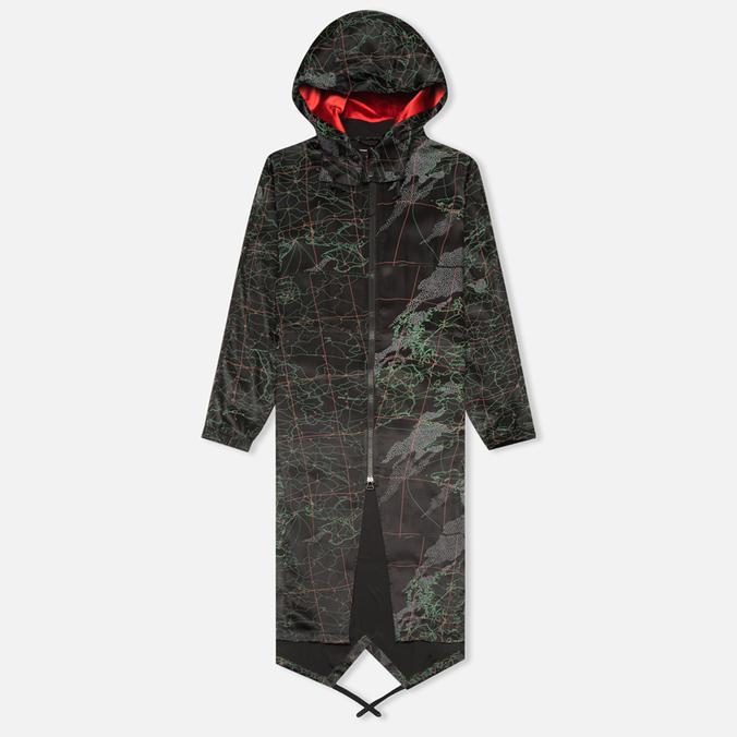 Женская куртка парка maharishi MAH.SAT. Black
