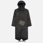 Женская куртка парка Maharishi Quilted Tri Border Black фото- 0