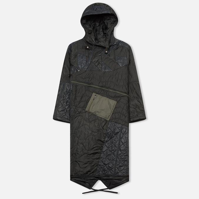 Женская куртка парка Maharishi Quilted Tri Border Black