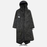 Женская куртка парка Maharishi Quilted Tri Border Black фото- 1