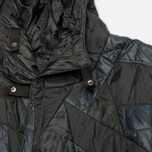 Женская куртка парка Maharishi Quilted Tri Border Black фото- 2