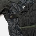Женская куртка парка Maharishi Quilted Tri Border Black фото- 3